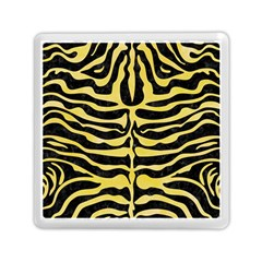 Skin2 Black Marble & Yellow Watercolor (r) Memory Card Reader (square)  by trendistuff