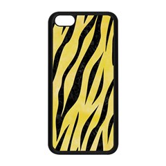 Skin3 Black Marble & Yellow Watercolor Apple Iphone 5c Seamless Case (black) by trendistuff