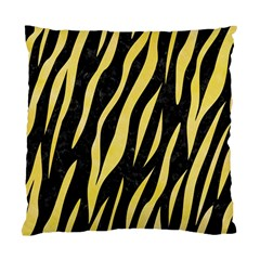 Skin3 Black Marble & Yellow Watercolor (r) Standard Cushion Case (two Sides) by trendistuff