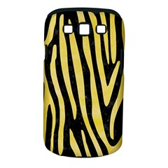 Skin4 Black Marble & Yellow Watercolor Samsung Galaxy S Iii Classic Hardshell Case (pc+silicone) by trendistuff