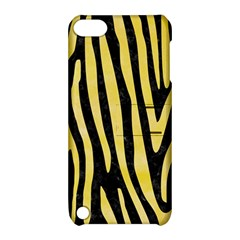 Skin4 Black Marble & Yellow Watercolor Apple Ipod Touch 5 Hardshell Case With Stand by trendistuff
