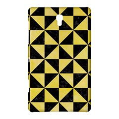 Triangle1 Black Marble & Yellow Watercolor Samsung Galaxy Tab S (8 4 ) Hardshell Case  by trendistuff