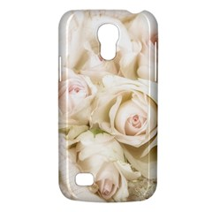Pastel Roses Antique Vintage Galaxy S4 Mini by Celenk
