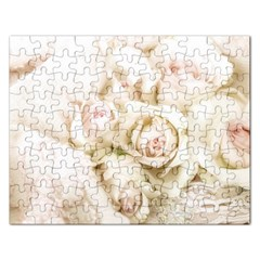 Pastel Roses Antique Vintage Rectangular Jigsaw Puzzl by Celenk