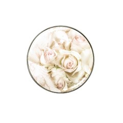 Pastel Roses Antique Vintage Hat Clip Ball Marker (10 Pack) by Celenk