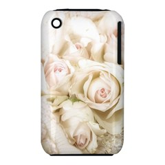 Pastel Roses Antique Vintage Iphone 3s/3gs by Celenk