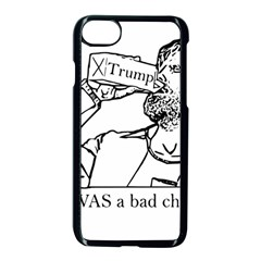Trump Novelty Design Apple Iphone 8 Seamless Case (black) by PokeAtTrump
