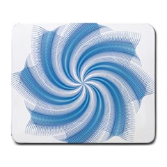 Prismatic Hole Blue Large Mousepads by Mariart