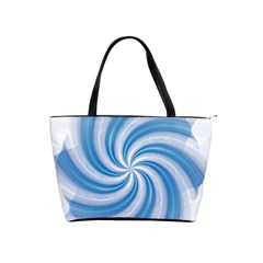 Prismatic Hole Blue Shoulder Handbags by Mariart