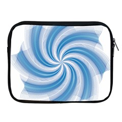 Prismatic Hole Blue Apple Ipad 2/3/4 Zipper Cases