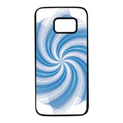 Prismatic Hole Blue Samsung Galaxy S7 Black Seamless Case by Mariart