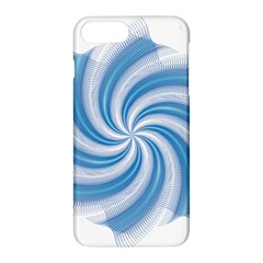 Prismatic Hole Blue Apple Iphone 8 Plus Hardshell Case