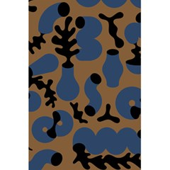 Superfiction Object Blue Black Brown Pattern 5 5  X 8 5  Notebooks by Mariart
