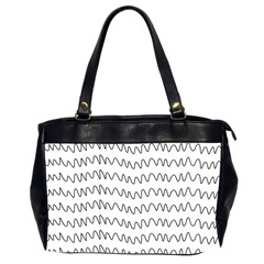 Tattoos Transparent Tumblr Overlays Wave Waves Black Chevron Office Handbags (2 Sides)  by Mariart