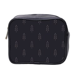 Tree Christmas Mini Toiletries Bag 2 Side