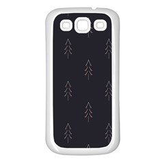 Tree Christmas Samsung Galaxy S3 Back Case (white) by Mariart