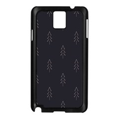 Tree Christmas Samsung Galaxy Note 3 N9005 Case (black) by Mariart