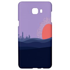 Wedding Lavender Moon Romantic Natural Samsung C9 Pro Hardshell Case  by Mariart