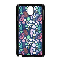 Seahorses Jellyfish Seaworld Sea  Beach Swiim Samsung Galaxy Note 3 Neo Hardshell Case (black) by Mariart