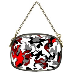Vector Red Black White Camo Advance Chain Purses (one Side)