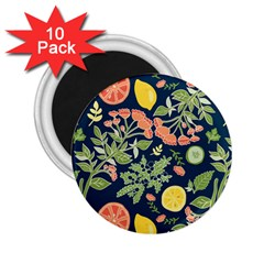 Summer Fruite Orange Lemmon Tomato 2 25  Magnets (10 Pack)  by Mariart