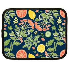 Summer Fruite Orange Lemmon Tomato Netbook Case (large)