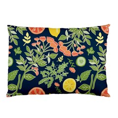 Summer Fruite Orange Lemmon Tomato Pillow Case by Mariart