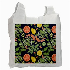 Summer Fruite Orange Lemmon Tomato Recycle Bag (one Side) by Mariart