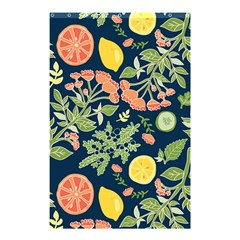 Summer Fruite Orange Lemmon Tomato Shower Curtain 48  X 72  (small)