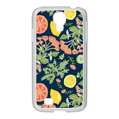 Summer Fruite Orange Lemmon Tomato Samsung Galaxy S4 I9500/ I9505 Case (white) by Mariart