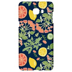 Summer Fruite Orange Lemmon Tomato Samsung C9 Pro Hardshell Case