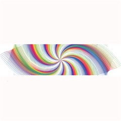 Prismatic Hole Rainbow Large Bar Mats