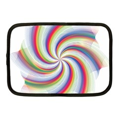 Prismatic Hole Rainbow Netbook Case (medium)  by Mariart