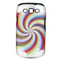Prismatic Hole Rainbow Samsung Galaxy S Iii Classic Hardshell Case (pc+silicone)