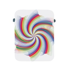 Prismatic Hole Rainbow Apple Ipad 2/3/4 Protective Soft Cases