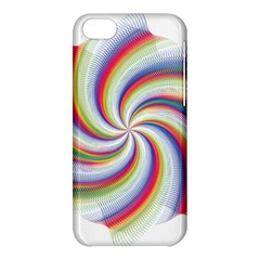 Prismatic Hole Rainbow Apple Iphone 5c Hardshell Case