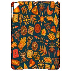 Tribal Ethnic Blue Gold Culture Apple Ipad Pro 9 7   Hardshell Case by Mariart