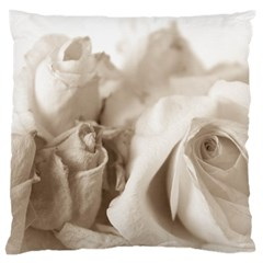 Vintage Rose Shabby Chic Background Large Cushion Case (one Side)