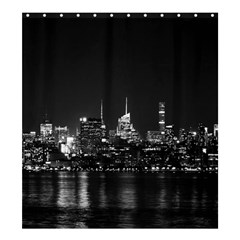New York Skyline Shower Curtain 66  X 72  (large)