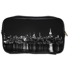 New York Skyline Toiletries Bags 2 Side by Celenk