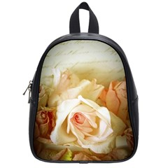 Roses Vintage Playful Romantic School Bag (small)