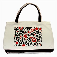 Square Objects Future Modern Basic Tote Bag by Celenk