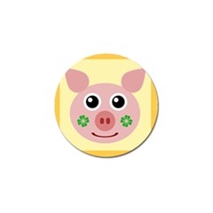 Luck Lucky Pig Pig Lucky Charm Golf Ball Marker