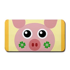 Luck Lucky Pig Pig Lucky Charm Medium Bar Mats by Celenk
