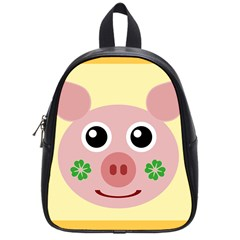 Luck Lucky Pig Pig Lucky Charm School Bag (small) by Celenk