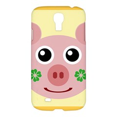 Luck Lucky Pig Pig Lucky Charm Samsung Galaxy S4 I9500/i9505 Hardshell Case by Celenk
