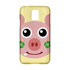 Luck Lucky Pig Pig Lucky Charm Samsung Galaxy S5 Hardshell Case  by Celenk