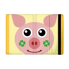 Luck Lucky Pig Pig Lucky Charm Ipad Mini 2 Flip Cases