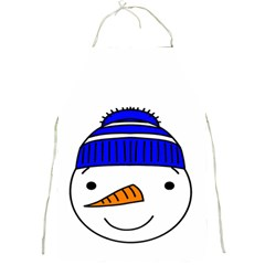 Snowman 1300097 1280 Full Print Aprons by Colorfulart23