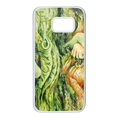 Chung Chao Yi Automatic Drawing Samsung Galaxy S7 White Seamless Case